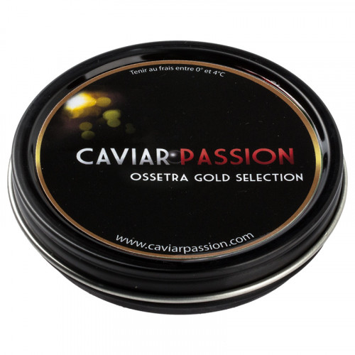 Caviar Ossetra Gold Selection