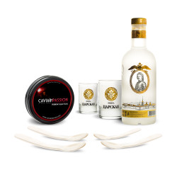 Coffret Vodka & Caviar Premium Selection