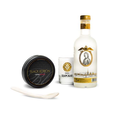 Coffret Egoïste Vodka & Caviar Black Edition