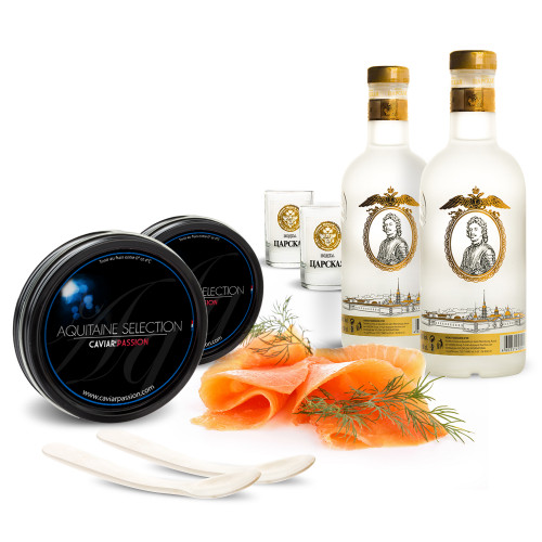 Pack Duo Aquitaine & Vodka