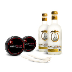 Coffret Duo Vodka & Caviar Premium