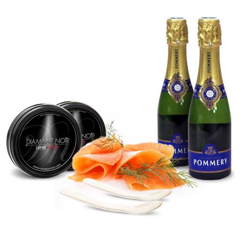Pack Caviar Diamant Noir Duo