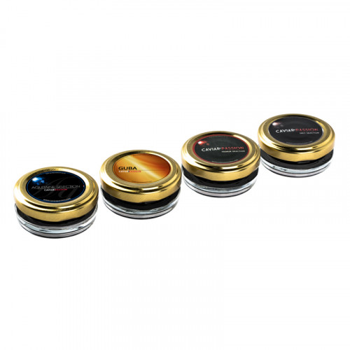 Coffret Dégustation Caviar Silver